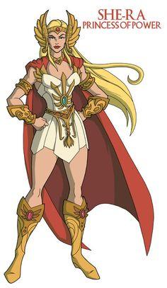 She-Ra- The Princess of Power He Man Desenho, Gi Joe, Catwoman, She Ra Costume, Character Art, Character Design, Cartoon Costumes, Saturday Morning Cartoons, She Ra Princess Of Power