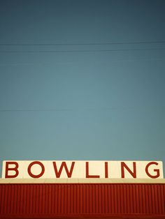 Visit the bowling alley