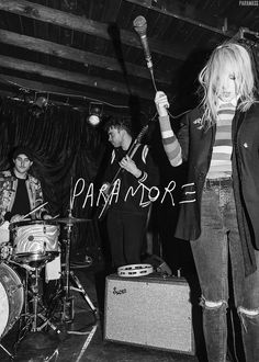 For everything Paramore check out Iomoio Paramore Lyrics, Hayley Paramore, Paramore Hayley Williams, Paramore Tattoo, Paramore Band, Emo Bands, Music Bands, Rock Bands, Pop Punk