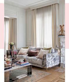 O apartamento feminino e fashionista da estilista Renata Figueiredo