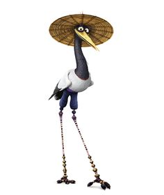 Master Crane is one of the supporting characters of the Kung Fu Panda franchise. He is a member of the Furious Five as well as one of Master Shifu's students at the Jade Palace. He is a master of the Crane Style of kung fu. Crane previously worked as a janitor at the Lee Da Kung Fu Academy, where his keen skill was noticed by its star pupil, Mei Ling. Though lacking confidence at first, he passed the school tryouts and proved his kung fu capabilities, and later formed the Furious Five…