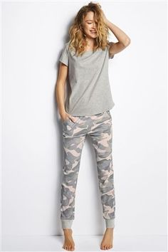 Buy Grey Camo Pyjamas from the Next UK online shop