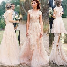 I found some amazing stuff, open it to learn more! Don't wait:https://m.dhgate.com/product/2015-vintage-lace-wedding-dress-anna-campbell/389634691.html