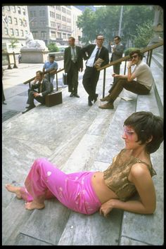 31 Photos Of New York City In The Summer Of '69. In 1969, Life magazine captured both the energy and the misery of a hot summer day in the city. Woman getting some attention on the steps of the New York Public Library.