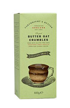 Cartwright & Butler Gluten Free Butter Oat Crumbles