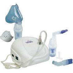 Inhalador Scala SC 145 con la máscara de respiración, con una boquilla, con el revólver