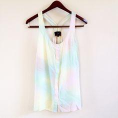 Spotted while shopping on Poshmark: | new | pastel tank! #poshmark #fashion #shopping #style #BB Dakota #Tops