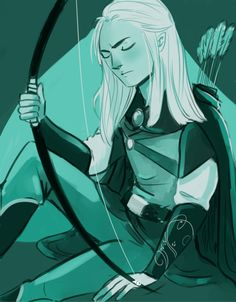 rockinichigo said: May I request Legolas in Wave please? :D Answer: One elvish prince in WAVE my ladies and gentlemen ~