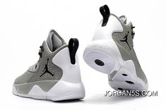 cfaf678a2423b Fly MVP Cement Grey White-Black Mens Basketball Shoes Latest from Reliable Nike  Jordan Super.Fly MVP Cement Grey White-Black Mens B