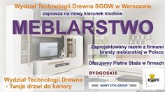 Meblarstwo, nowy kierunek studiów SGGW