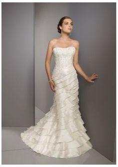 amie vente chaude à la mode des robes de mariée bustier