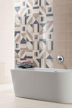 Séria UP (ap) od výrobcu RAKO inšpiruje svojou nadčasovosťou a dokonalou účelnosťou. UP je variabilná séria kombinujúca niekoľko dizajnových prvkov a formátov. Lesklé obklady vo farebných variantoch biela, svetlo béžová, hnedo-šedá, slonová kosť a