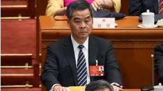 Hong Kong Chief Executive Leung Chun-ying attends the opening ceremony of the National People's Congress at the Great Hall of the People in Beijing on March 5, 2016