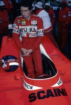 Patrick André Eugène Joseph Depailler (FRA) (Marlboro Team Alfa Romeo), Alfa Romeo 179 - Alfa Romeo 1260 3.0 V12 (RET) 1980 Belgian Grand Prix, Circuit Zolder © Hoch Zwei