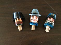 Unusual Vintage Bottle Stoppers by YouandVintage on Etsy