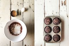 Double Chocolate Muffins//pastry muffins//