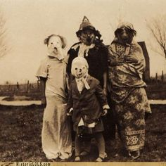Would Harold like to come out and play with us?  Horrifying vintage Halloween costumes