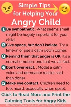The 5 tips that WILL help you calm your angry child down. Here are some tips for gently helping your angry child calm down. Plus, 8 tools they can use to calm down anywhere. Grab a printable reminder. Gentle Parenting, Parenting Quotes, Parenting Advice, Kids And Parenting, Parenting Classes, Peaceful Parenting, Natural Parenting, Parenting Styles, Angry Child