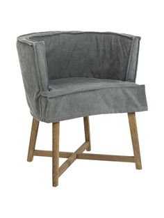 Cocktailsessel günstig  KS Chair, Ledersessel, Farbe: Cognac, Gestell: Gestell Edelstahl ...