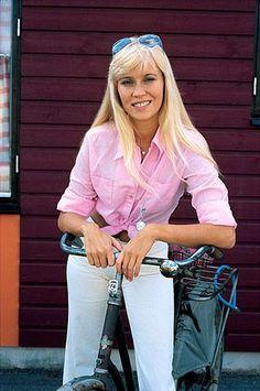 Agnetha in 1974.