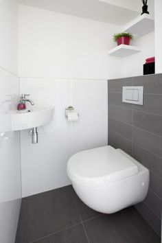 Space Saving Toilet Design for Small Bathroom - Home to Z Space Saving Toilet, Small Toilet Room, Steam Showers Bathroom, Bathroom Toilets, Toilet Closet, Pink Toilet, Walking Closet, Toilet Accessories, Downstairs Toilet