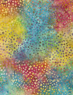 Timeless Treasures | Confetti Mosaic Batik