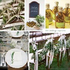 Bodas con estilo Mediterráneo…  //  Mediterranean Weddings style…
