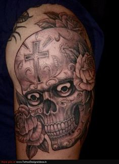 Picture Sugar Skull Tattoos Designs - FFIBIZZ.COM