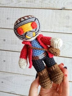 Star-Lord crochet doll Amigurumi Peter Quill and Gamora toys Marvel Guardians of the Galaxy Star Lord Superhero boys room For babies nursery