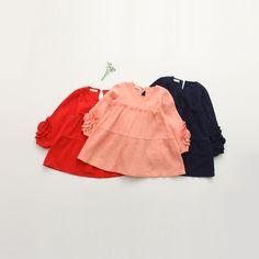 $16.90 (Buy here: https://alitems.com/g/1e8d114494ebda23ff8b16525dc3e8/?i=5&ulp=https%3A%2F%2Fwww.aliexpress.com%2Fitem%2F2016-spring-children-girls-clothing-kids-cute-dress-loose-cotton-ruffle-flower-dresses%2F32618333144.html ) 2016 spring children girls clothing kids cute dress loose cotton ruffle flower dresses for just $16.90