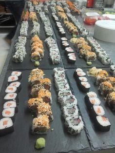 300 peças de sushi