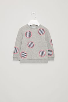COS | Sweatshirt with circle applications