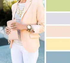 Spring Look Picture Description 20 brilliant color combos for your Colour Combinations Fashion, Color Combinations For Clothes, Fashion Colours, Colorful Fashion, Color Combos, Color Schemes, Mode Ab 50, Moda Casual, Outfit Summer