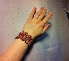 Gehäkeltes Armband Nr. 2
