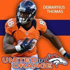 Demaryius Thomas!!! I shall keep him and call him my squishy.