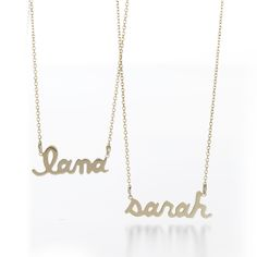 Ava Petite Name Necklace #SarahChloe    http://www.sarahchloe.com/shop/shop-by-collection/personalized/ava-name-necklace-1.html