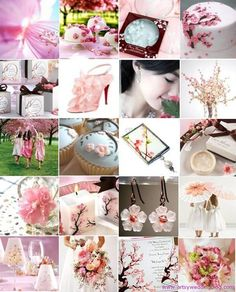 Cherry Blossom Themed Wedding
