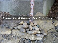 Done properly, rainwater catchment reduces the need to hand water, saving time and money.
