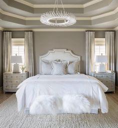 76 Luxury All White Bedroom Decor Ideas – housedecor Master Bedroom Design, Dream Bedroom, Home Bedroom, Bedroom Ideas, Bedroom Designs, White Bedroom Decor, Farmhouse Style Bedrooms, Boho Home, My New Room