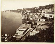 G. Sommer, Italia, Napoli, Posillipo     #Europe #Italia #Naples_Napoli