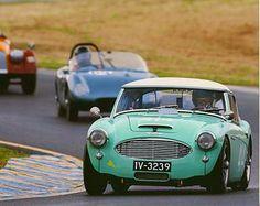 Vintage Race Cars 1957 100-6 MM Austin Healey