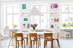 Stockholm apartment via Design Attractor