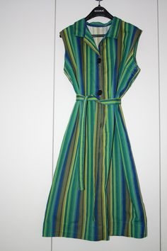 Klänning bomull 60-tal