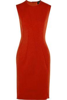 Lanvin Stretch-scuba jersey dress | NET-A-PORTER