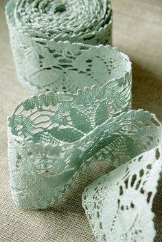 Mint Green Lace ....