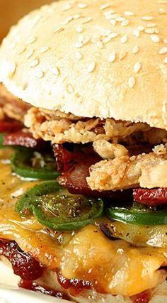 Smashburger Spicy Cowboy Burger ~ Incredible!