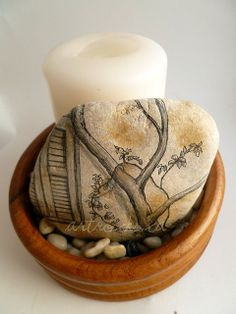 greek window and tree inspired stone | Flickr - Photo Sharing!