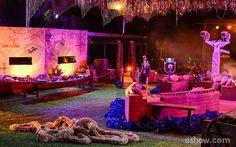 Festa Pirata traz uma decoração bem sugestiva para os brothers se sentirem em alto mar - BBB14
