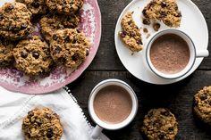 Galettes déjeuner - K pour Katrine Homemade Breakfast, Breakfast Ideas, Vegan Recipes, Cooking Recipes, Rainbow Food, Gluten Free Cookies, Easy Snacks, Healthy Treats, No Bake Desserts