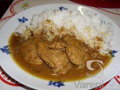 Krutí medailonky s kari a citronem recept - Vareni. Pork, Rice, Chicken, Meat, Pork Roulade, Pigs, Buffalo Chicken, Jim Rice, Cubs